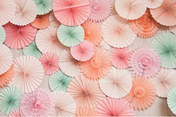 We Share Ideas Diy Enfeite De Papel Para Festas