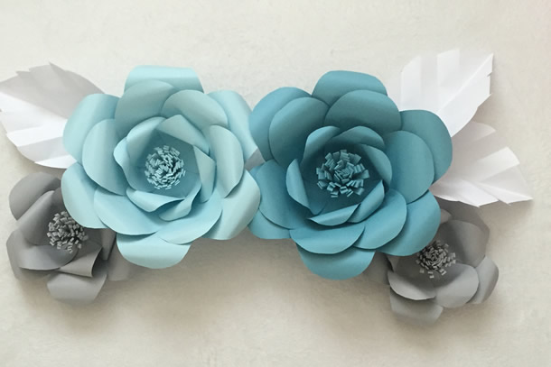 We share ideas diy como fazer flores de papel - Como se hacen flores de papel ...