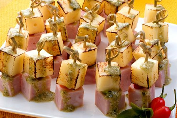 We share ideas 5 receitas de aperitivos super f ceis for Canapes simples e barato